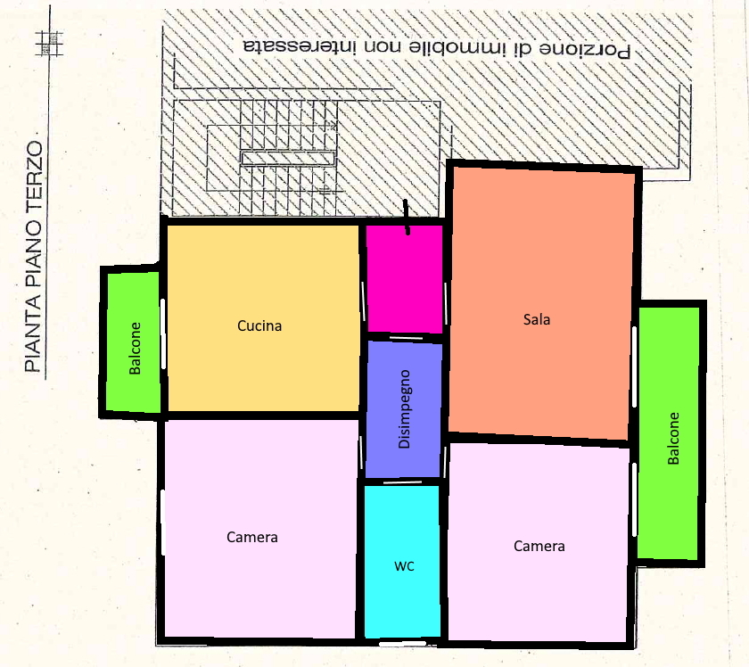 Planimetria 1/1 per rif. 218.