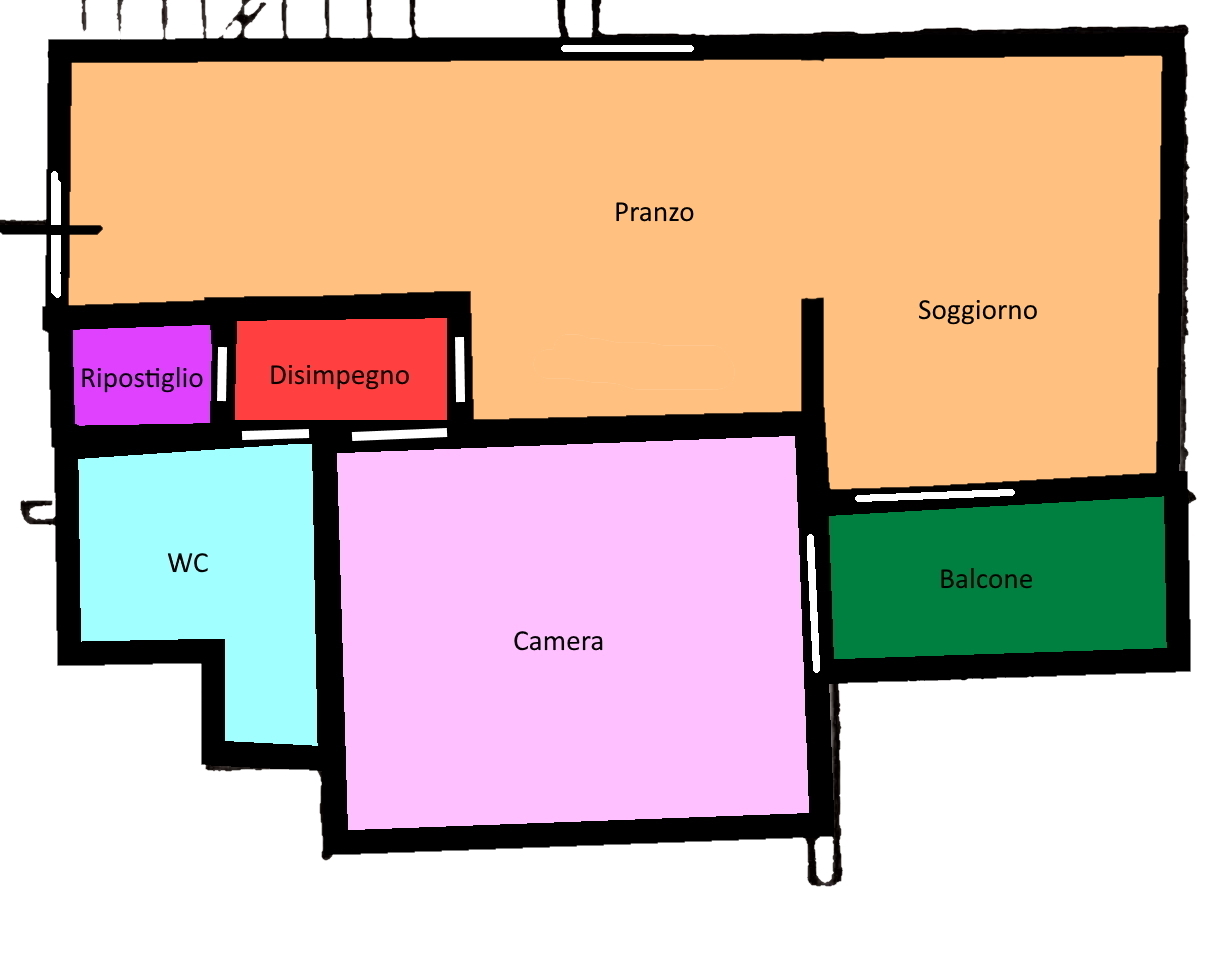 Planimetria 1/1 per rif. 122.