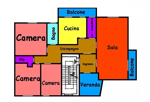 Planimetria 1/1 per rif. 290