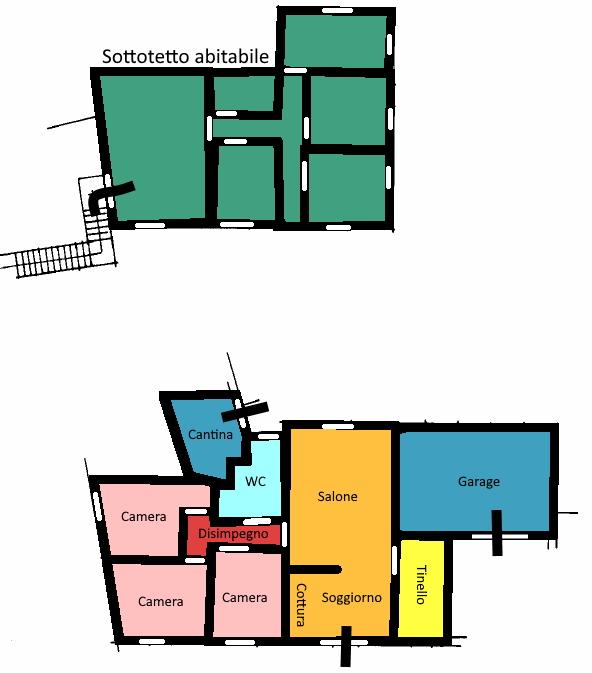 Planimetria 1/1 per rif. 399