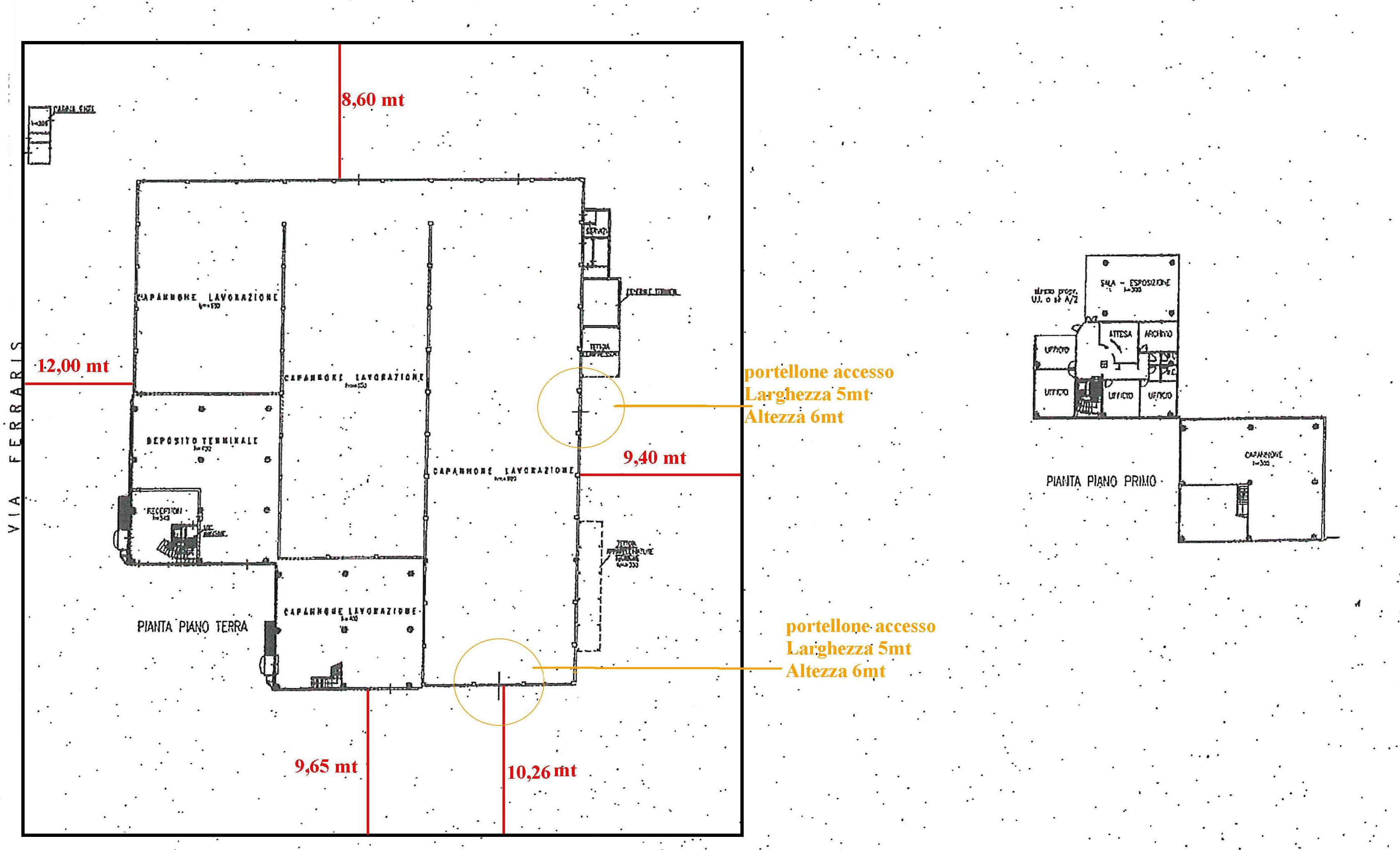 Planimetria 1/1 per rif. 702
