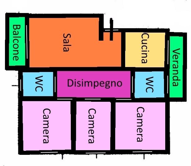 Planimetria 1/1 per rif. 293