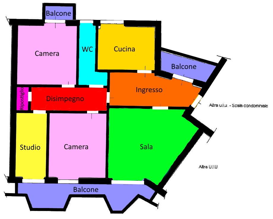 Planimetria 1/1 per rif. 213