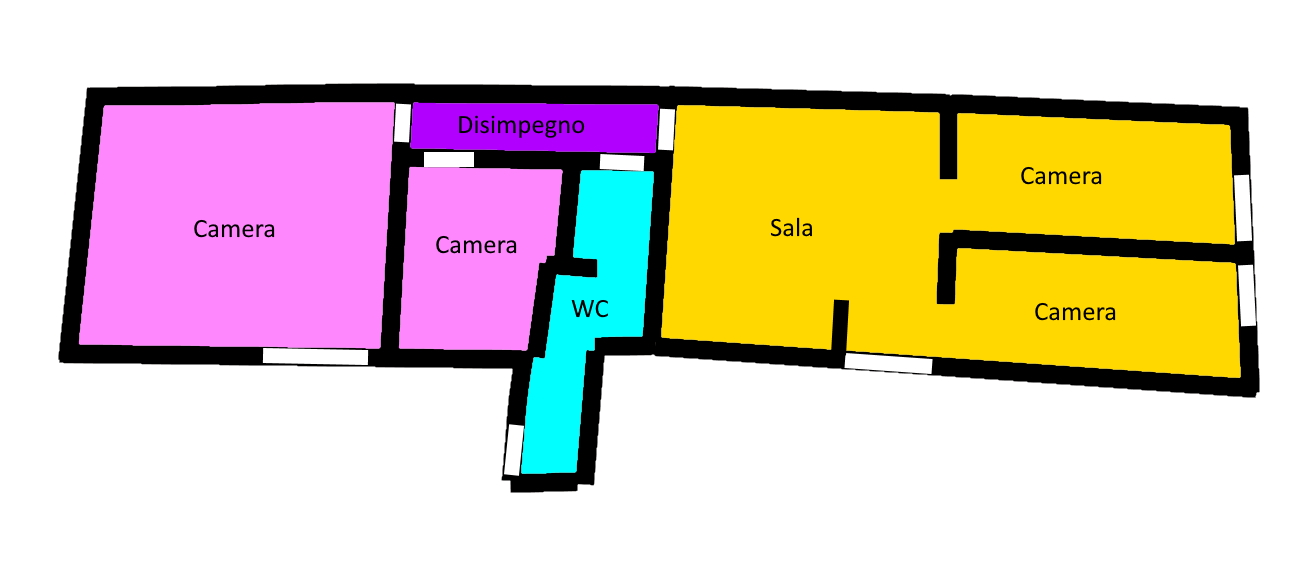 Planimetria 1/1 per rif. 168