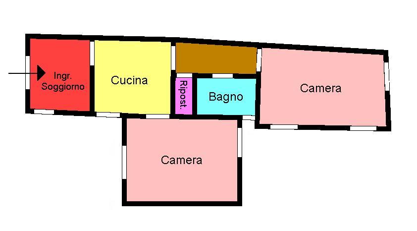 Planimetria 1/1 per rif. 204.