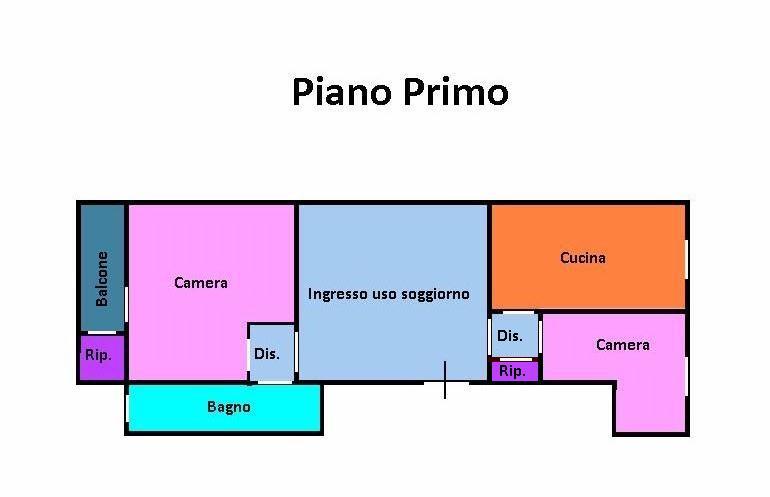 Planimetria 1/1 per rif. 137