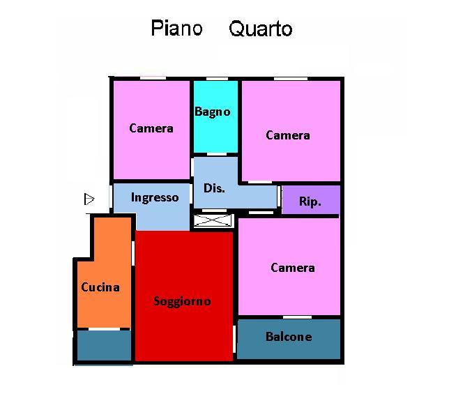 Planimetria 1/1 per rif. 237
