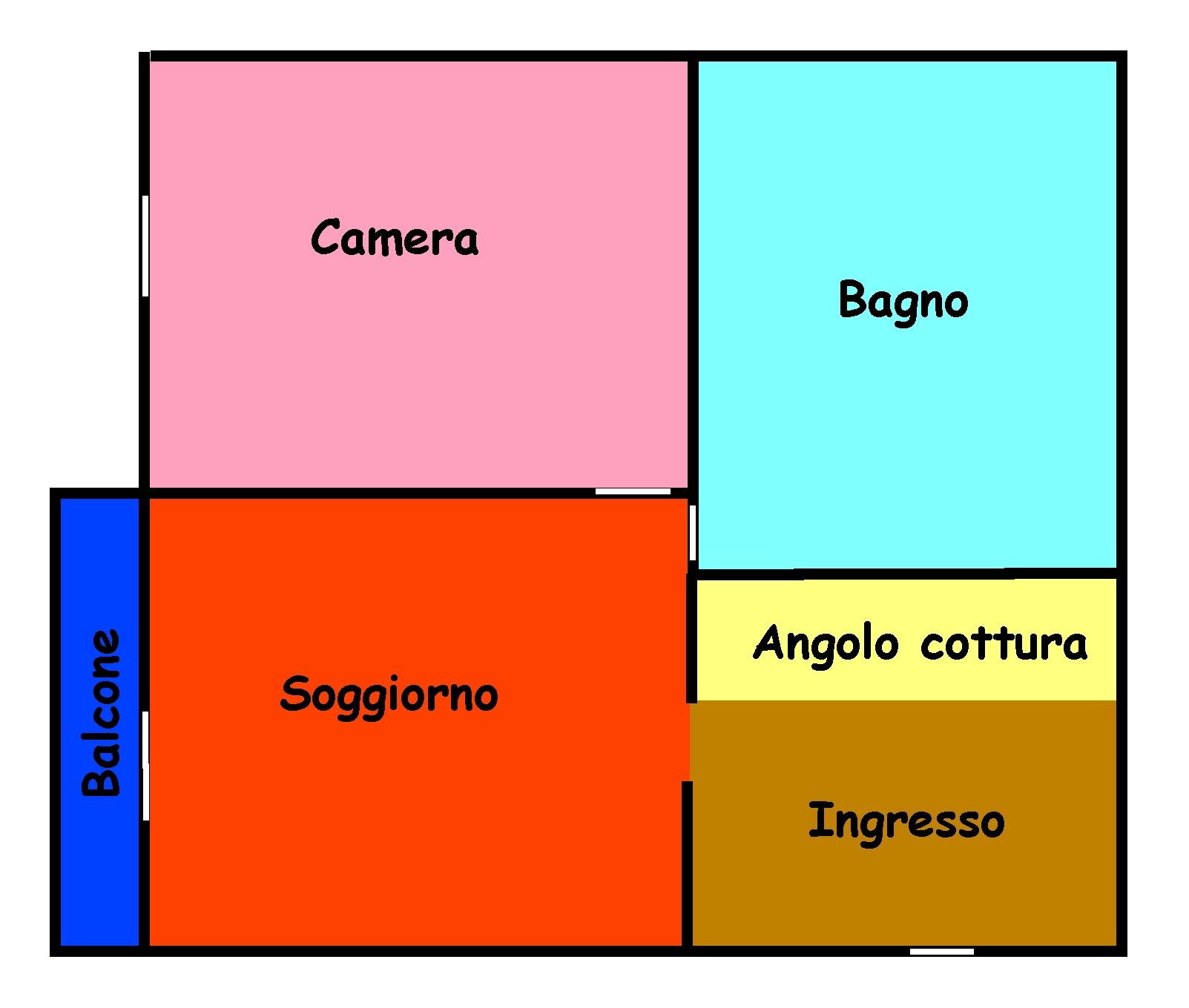 Planimetria 1/1 per rif. L102B