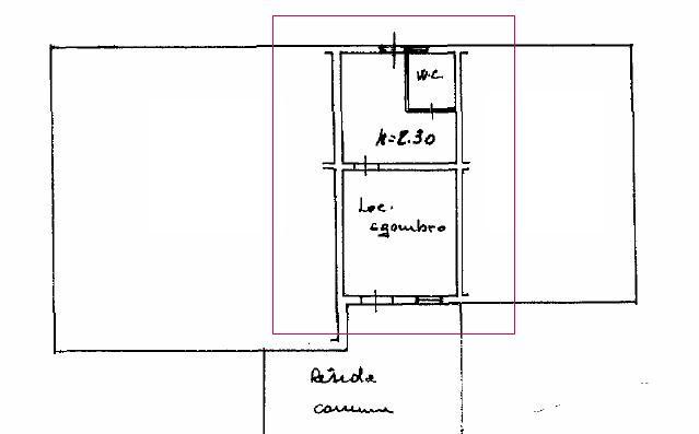 Planimetria 1/1 per rif. L113.