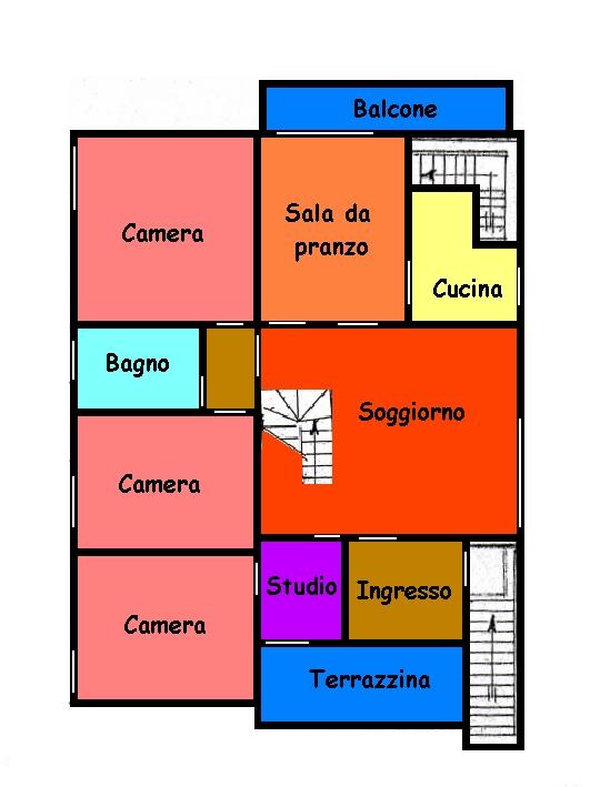 Planimetria 2/2 per rif. 591A