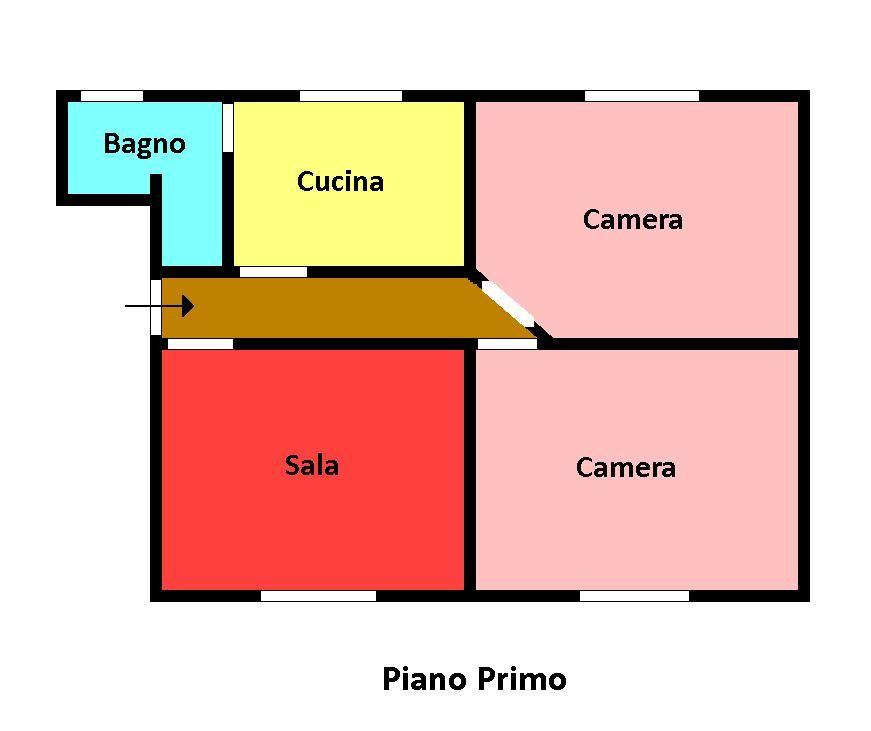 Planimetria 1/1 per rif. 146b
