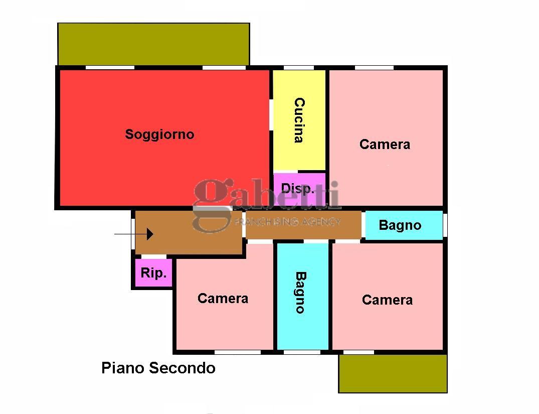 Planimetria 1/1 per rif. 192