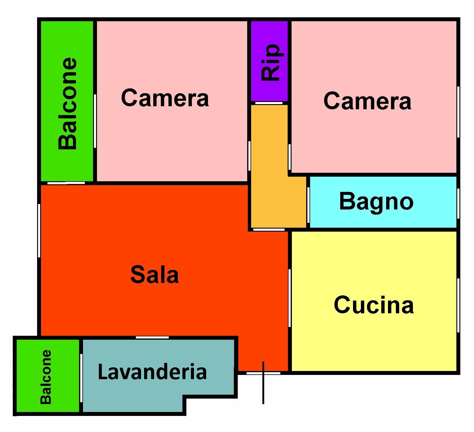 Planimetria 1/1 per rif. 155b