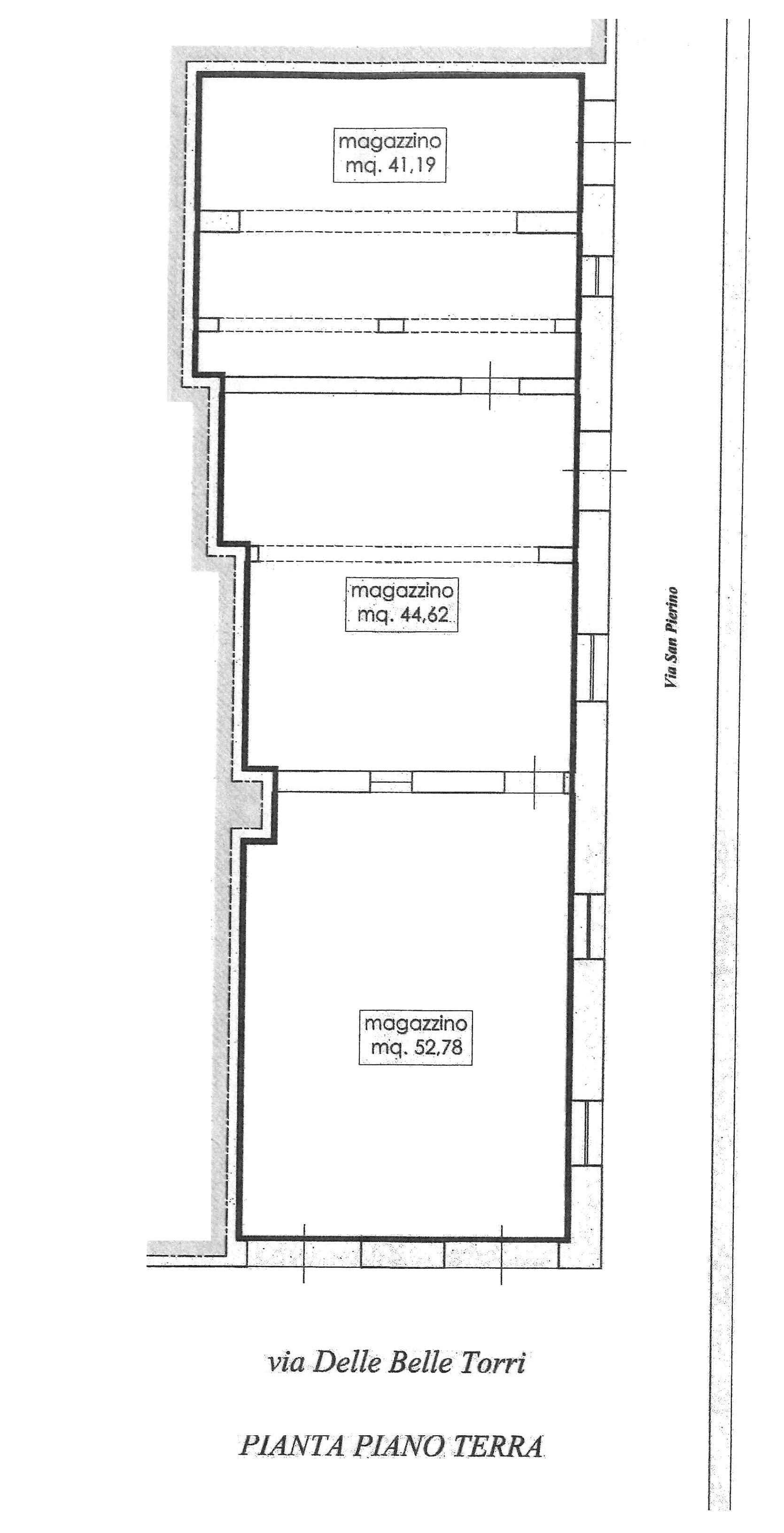 Planimetria 1/1 per rif. 149L