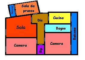 Planimetria 1/1 per rif. 151S