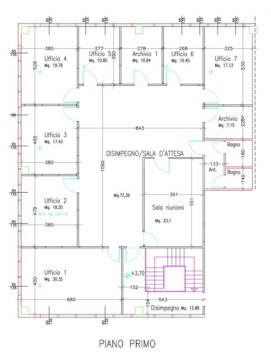 Planimetria 1/1 per rif. L162