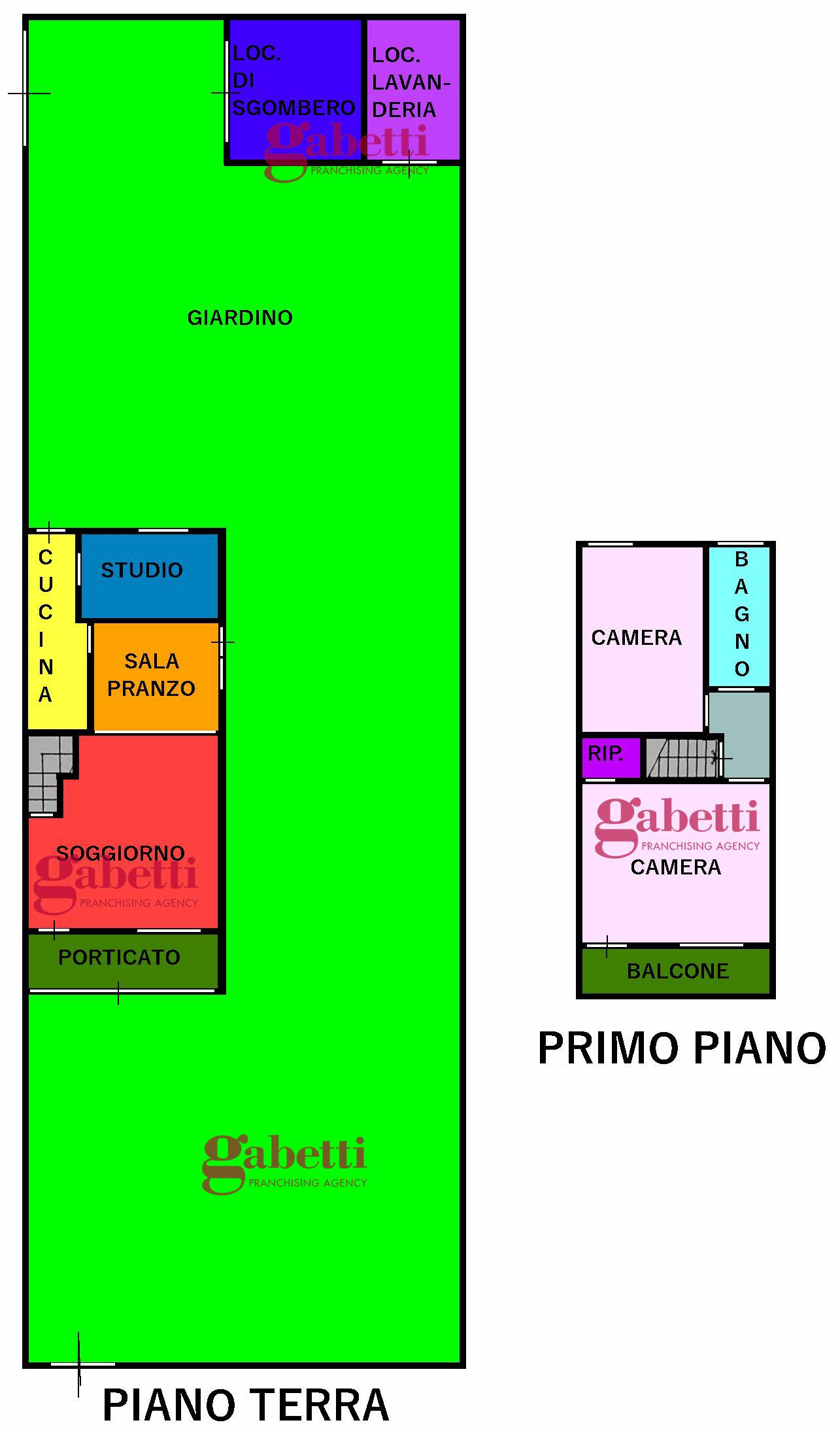 Planimetria 1/1 per rif. 389