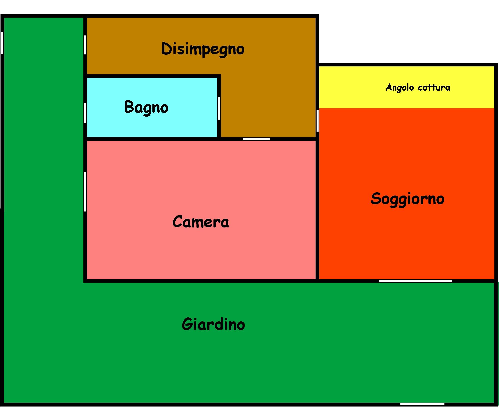 Planimetria 1/1 per rif. L139S