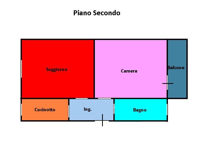 Planimetria 1/1 per rif. L167b