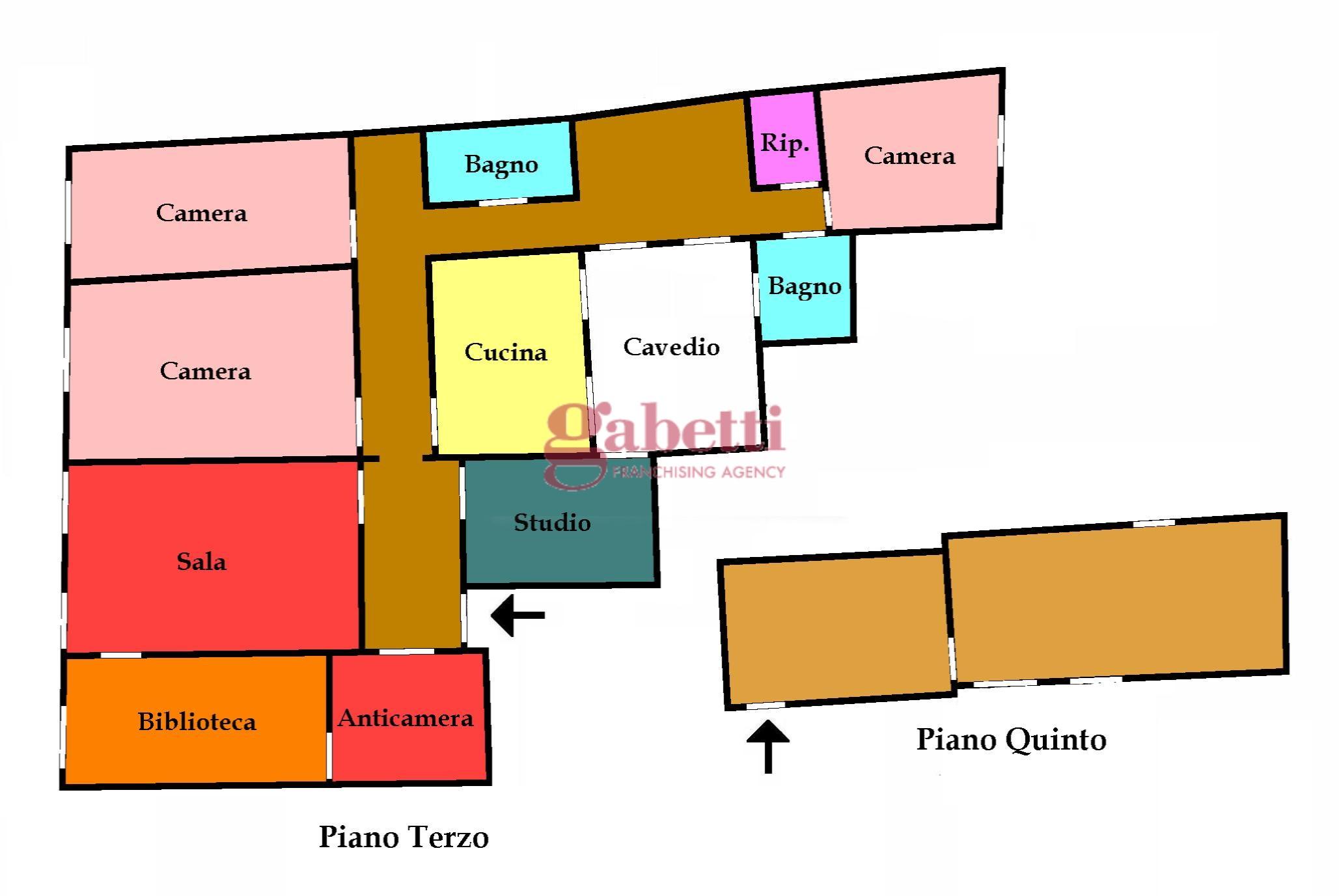 Planimetria 1/1 per rif. 757