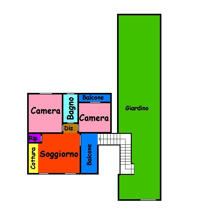Planimetria 1/1 per rif. 231S