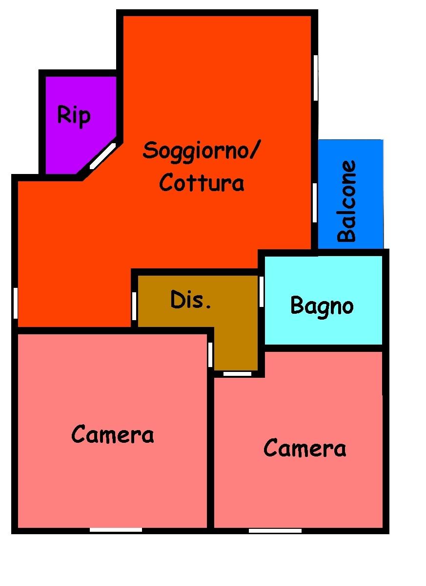 Planimetria 1/1 per rif. 233S