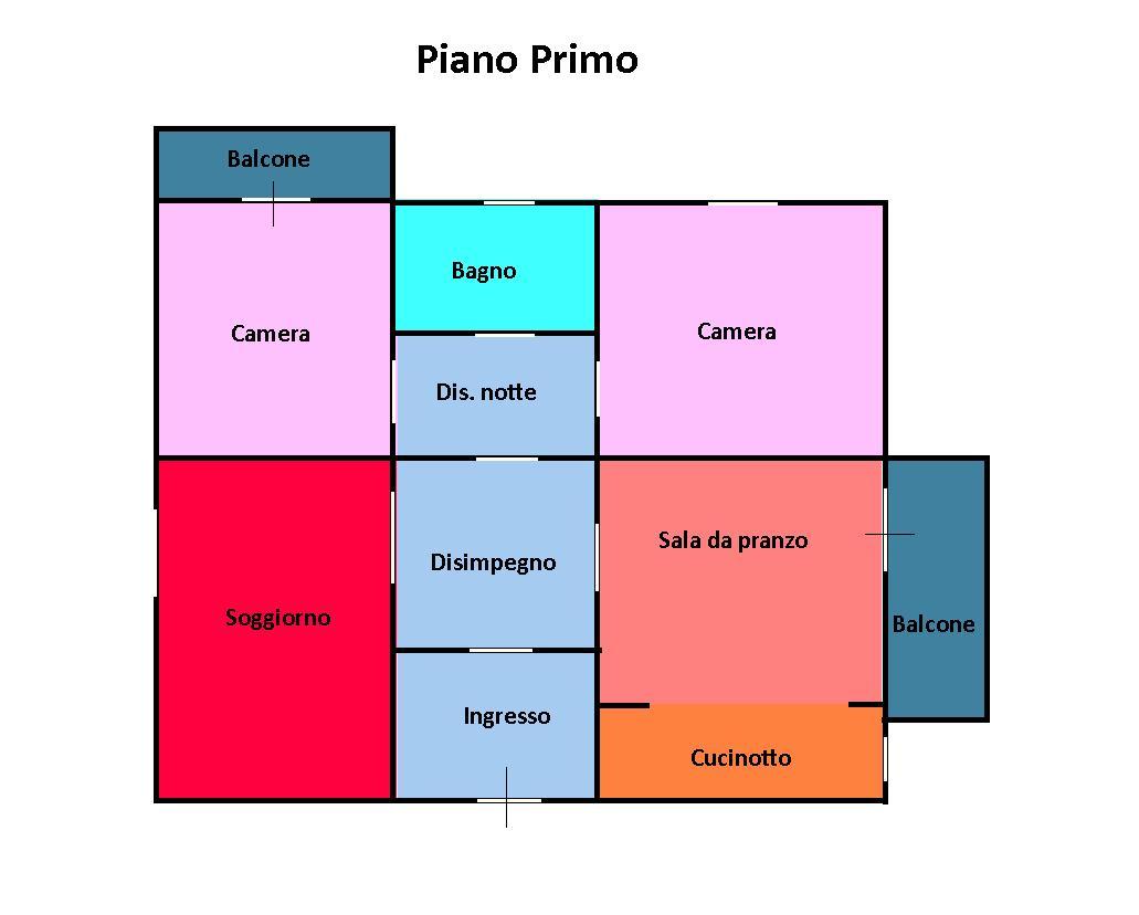 Planimetria 1/1 per rif. 242