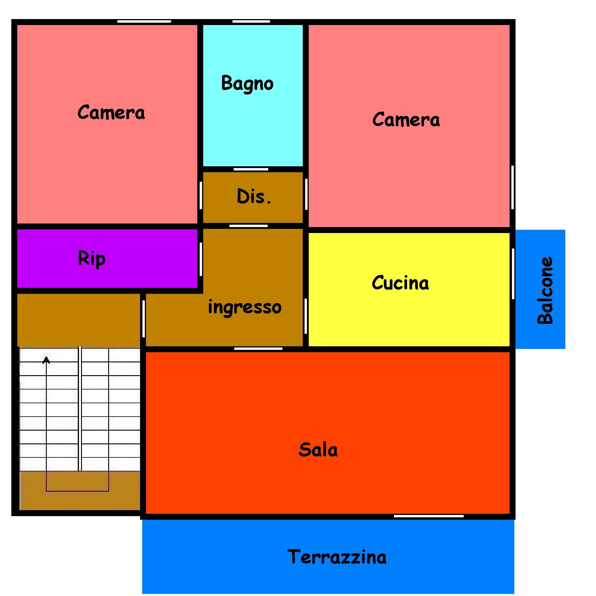 Planimetria 1/1 per rif. 228S