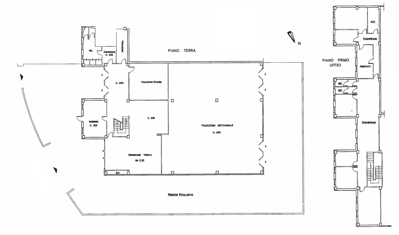 Planimetria 1/1 per rif. 690