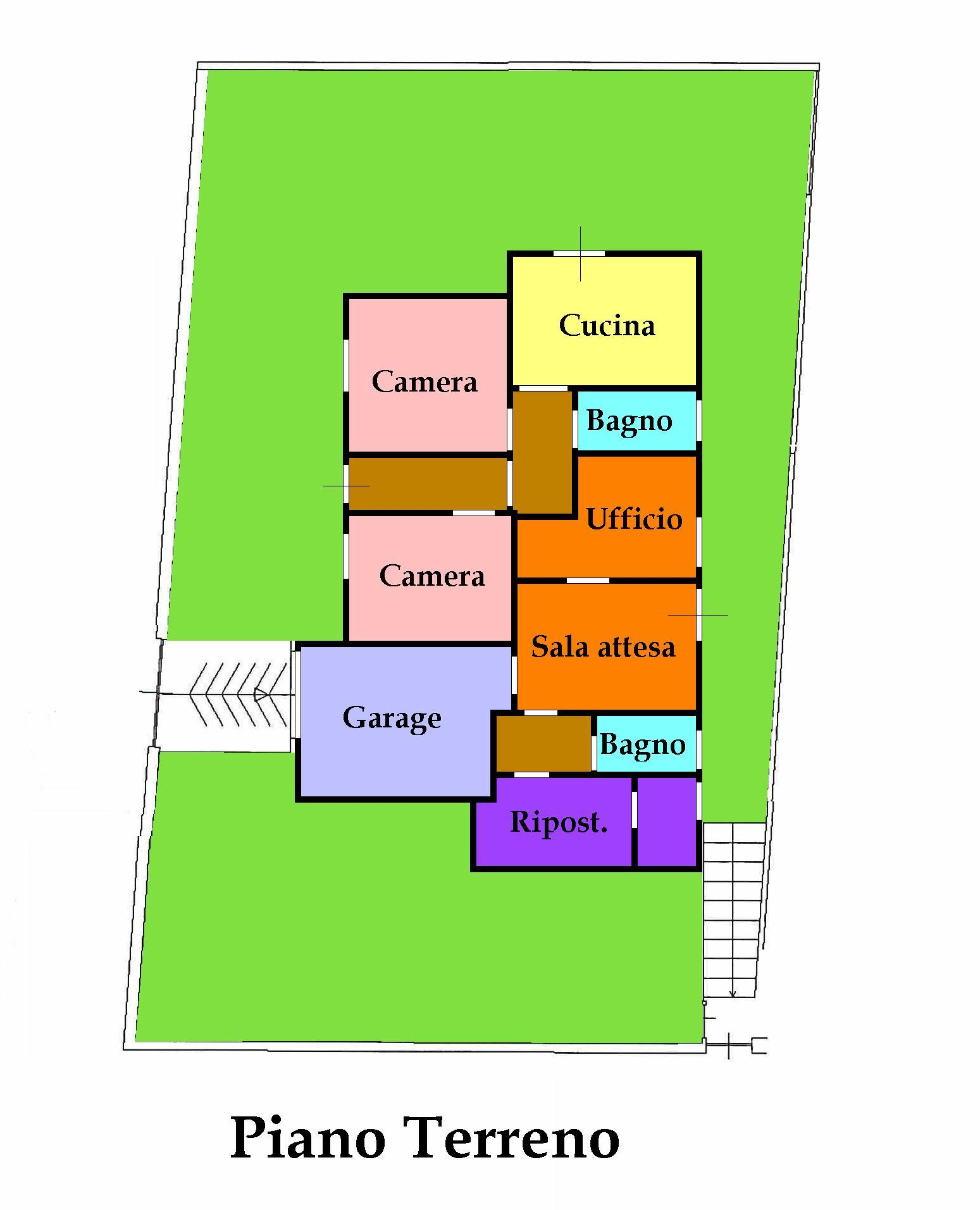 Planimetria 2/2 per rif. 595