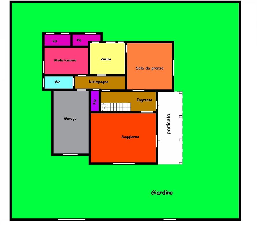 Planimetria 1/2 per rif. 429