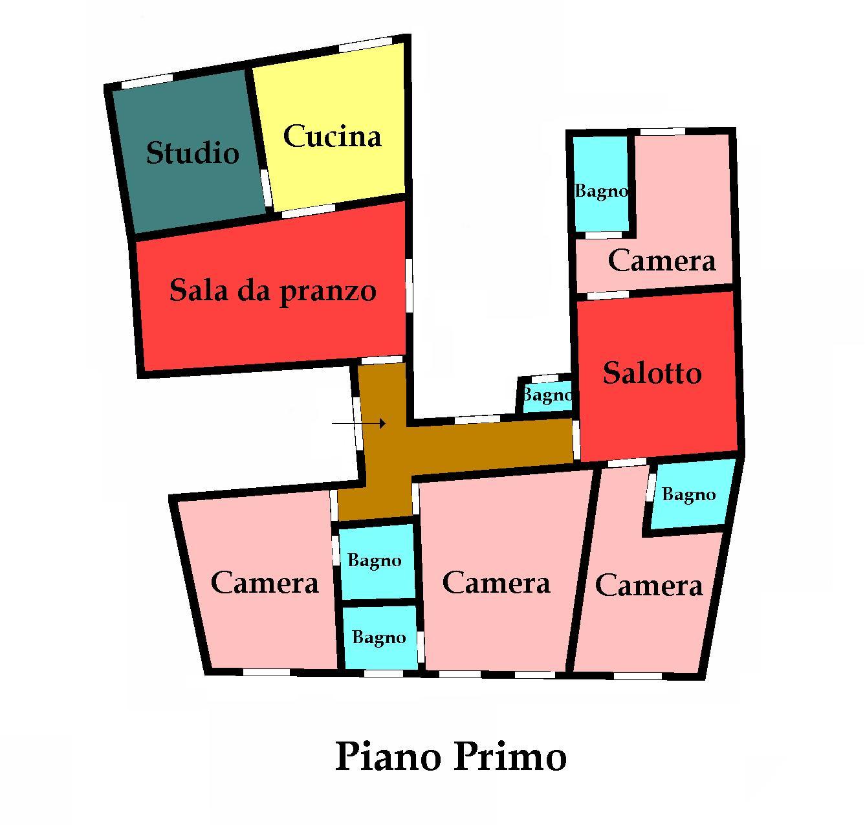 Planimetria 1/1 per rif. 605