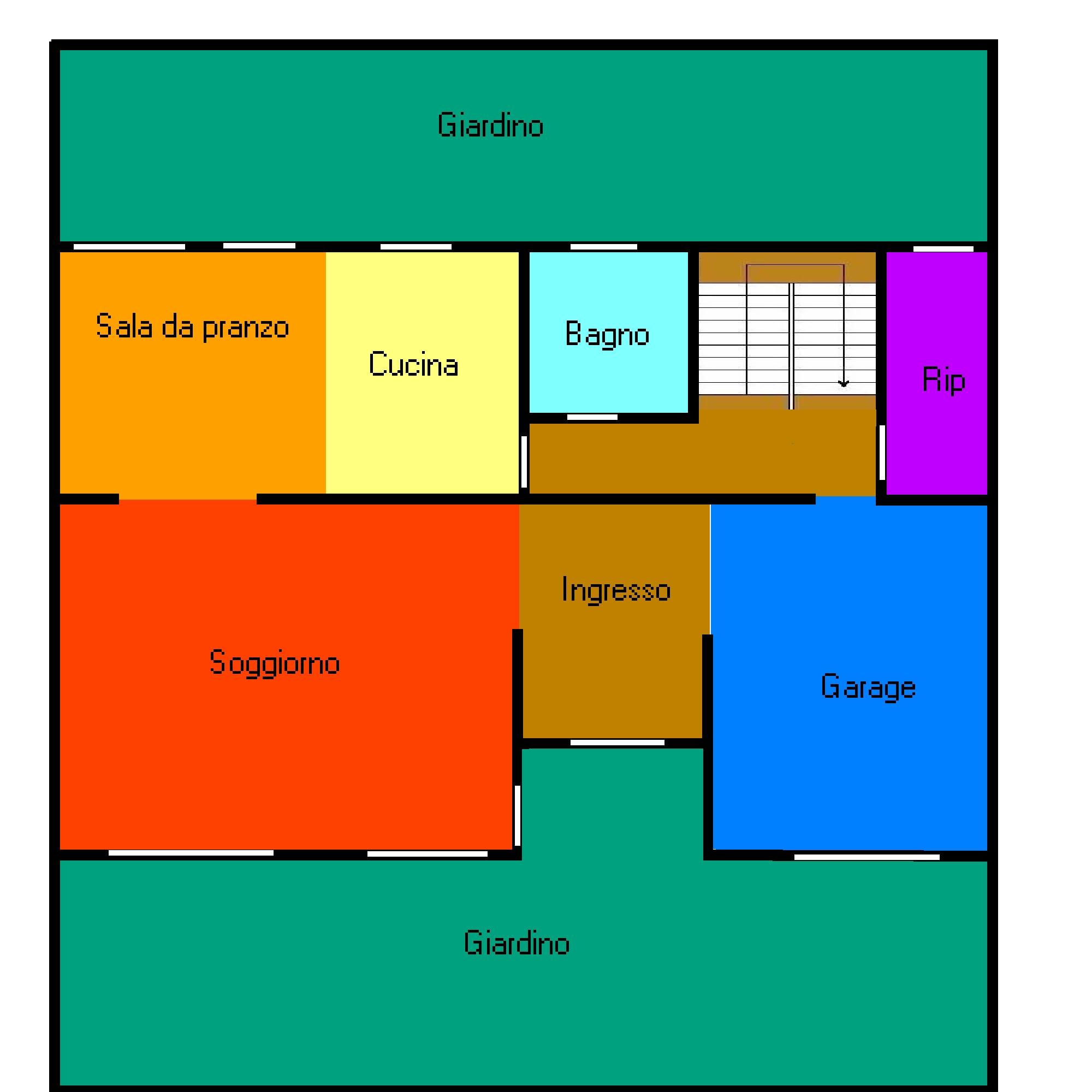 Planimetria 1/1 per rif. 394