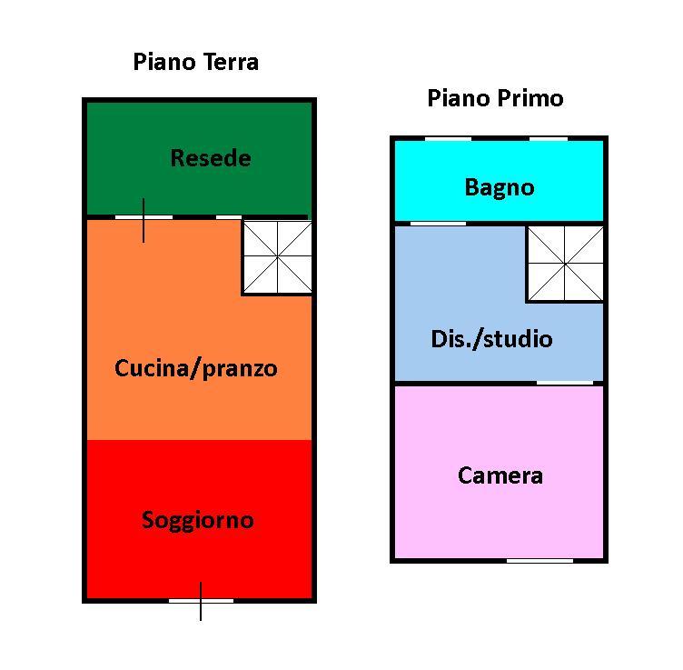 Planimetria 1/1 per rif. L156B