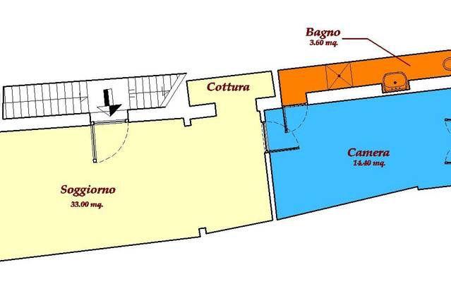 Planimetria 1/1 per rif. L131/B