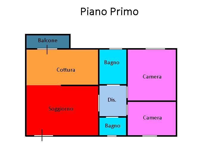 Planimetria 1/1 per rif. L105