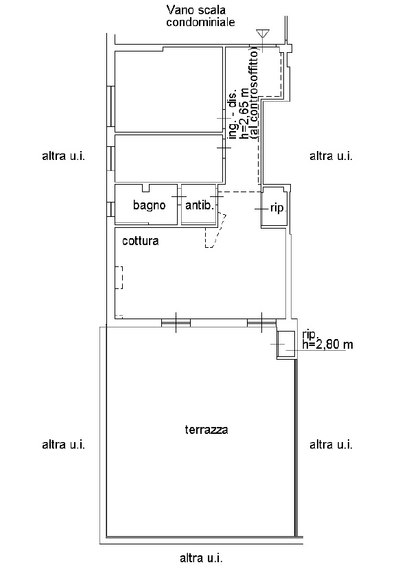Planimetria 1/1 per rif. 327