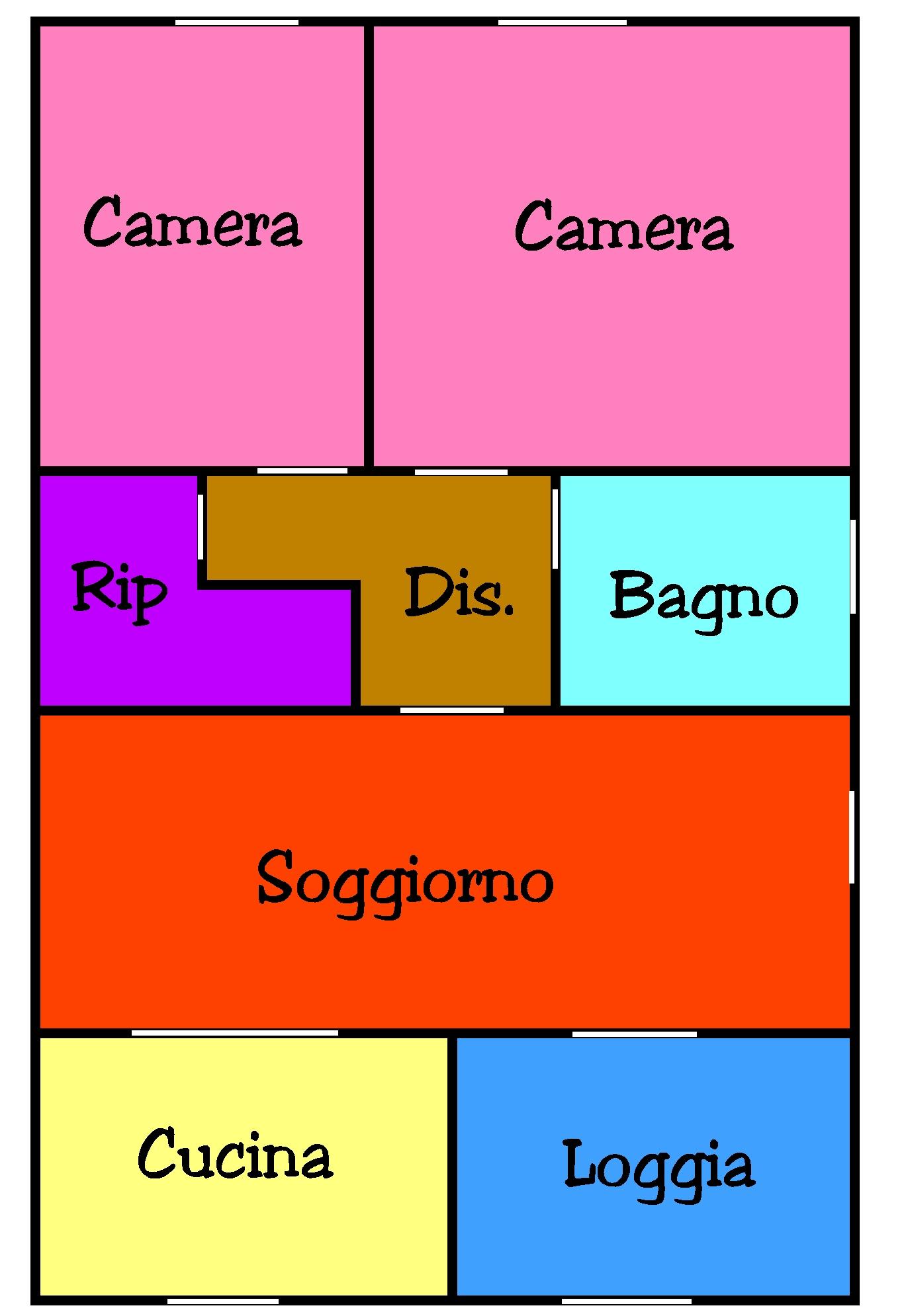 Planimetria 1/1 per rif. L108S