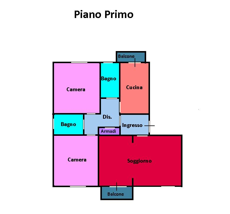 Planimetria 1/1 per rif. 237B