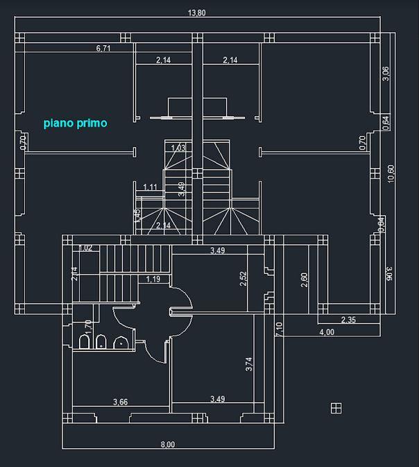 Casa semindipendente in vendita, rif. 106914 (Planimetria 1/2)