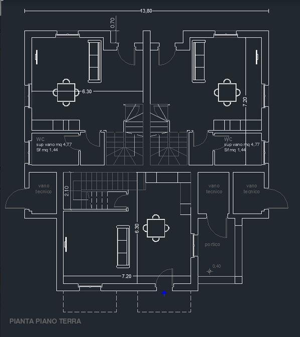 Casa semindipendente in vendita, rif. 106914 (Planimetria 2/2)