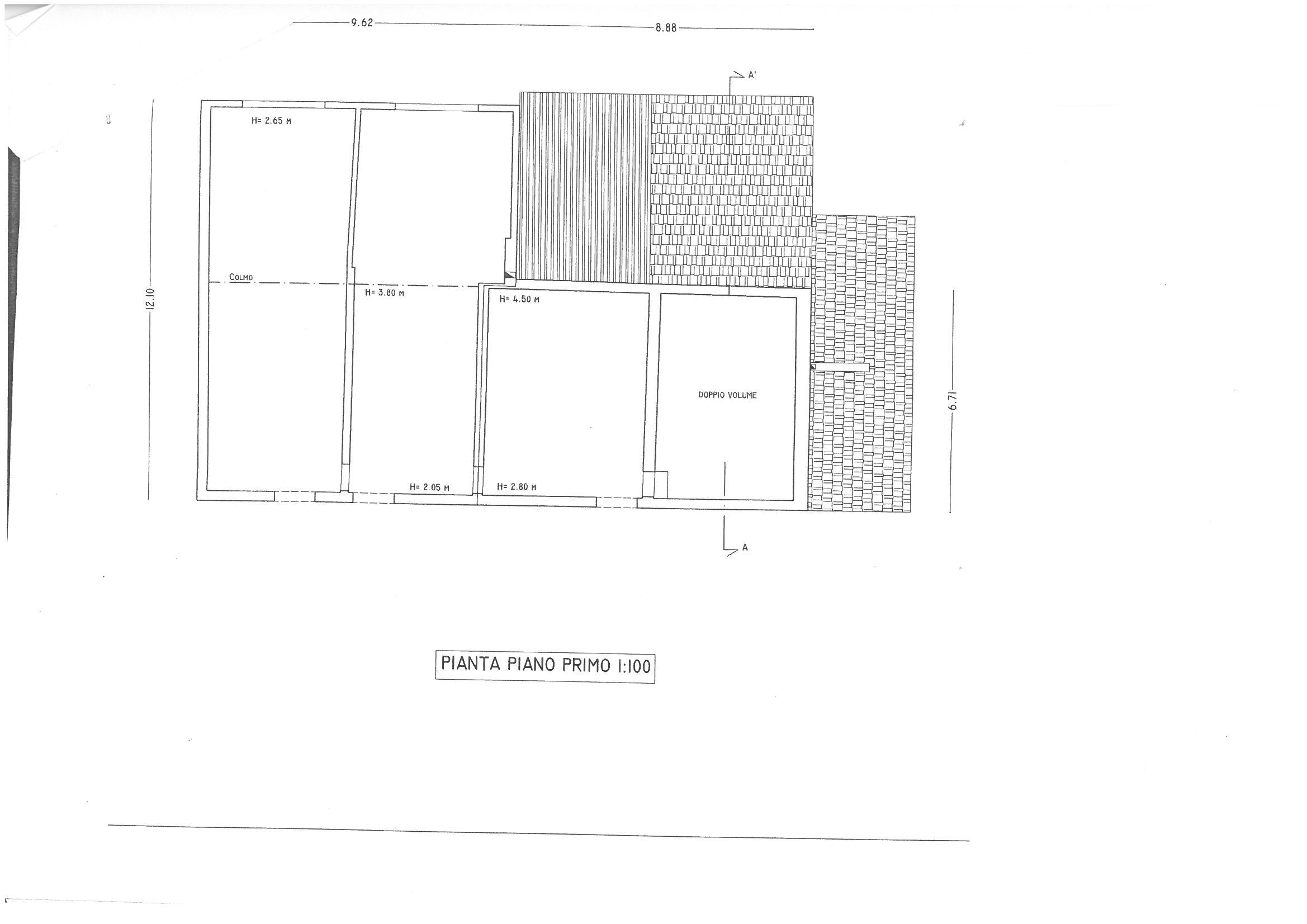 Planimetria 2/3 per rif. S474