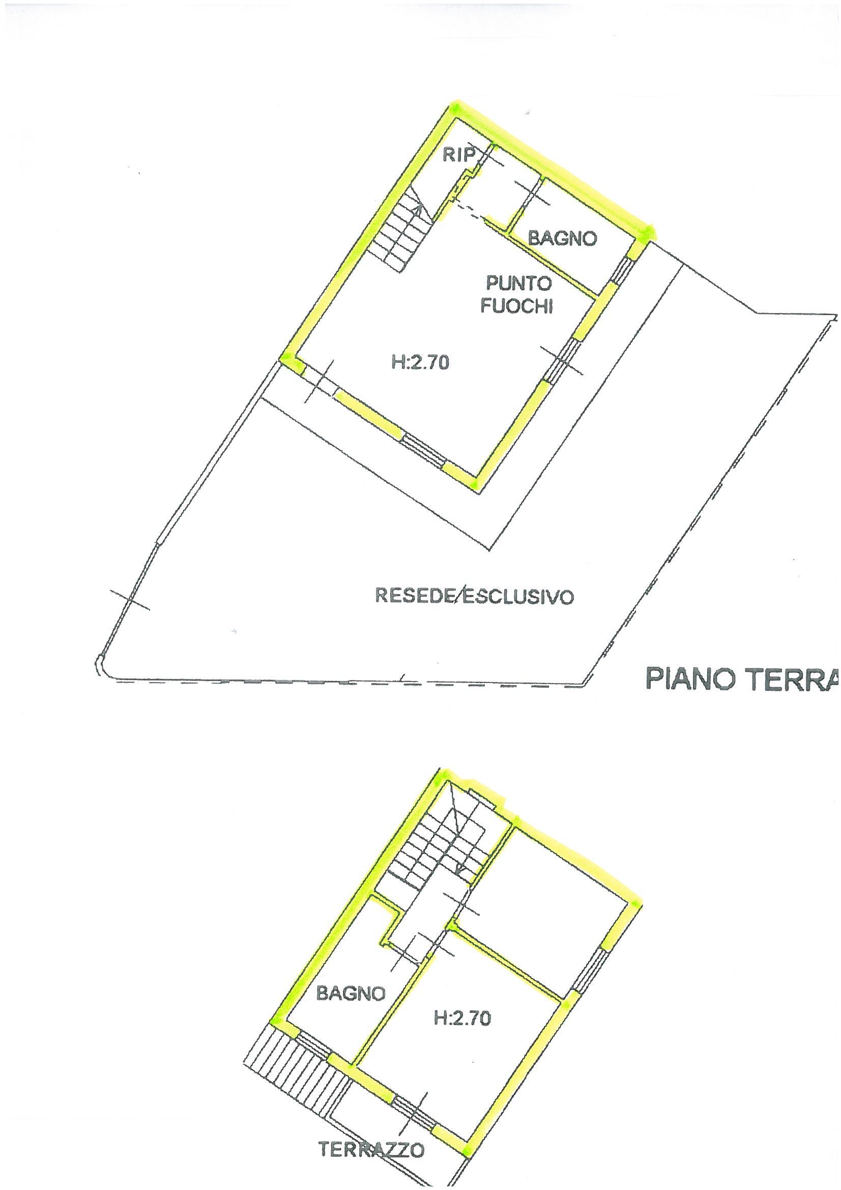 Planimetria 1/1 per rif. S62