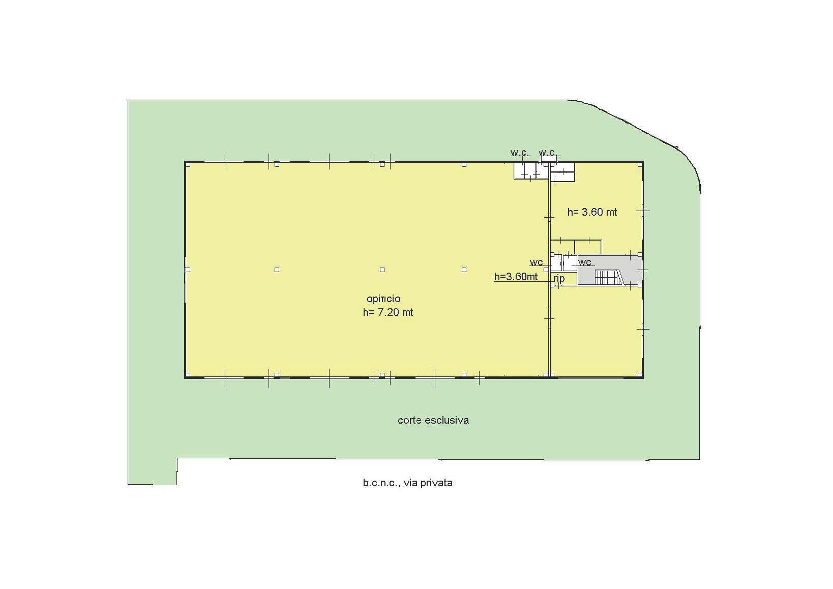 Planimetria 1/2 per rif. B669