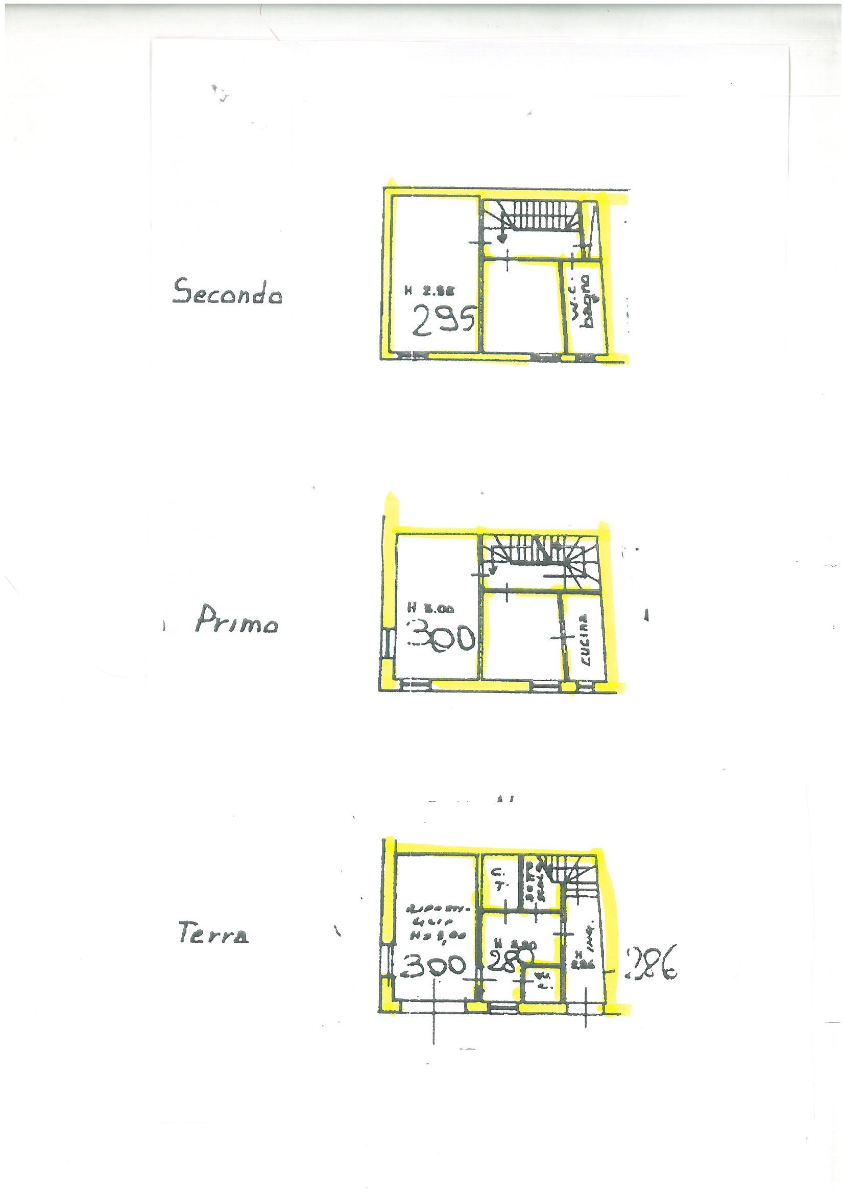 Planimetria 1/1 per rif. S605