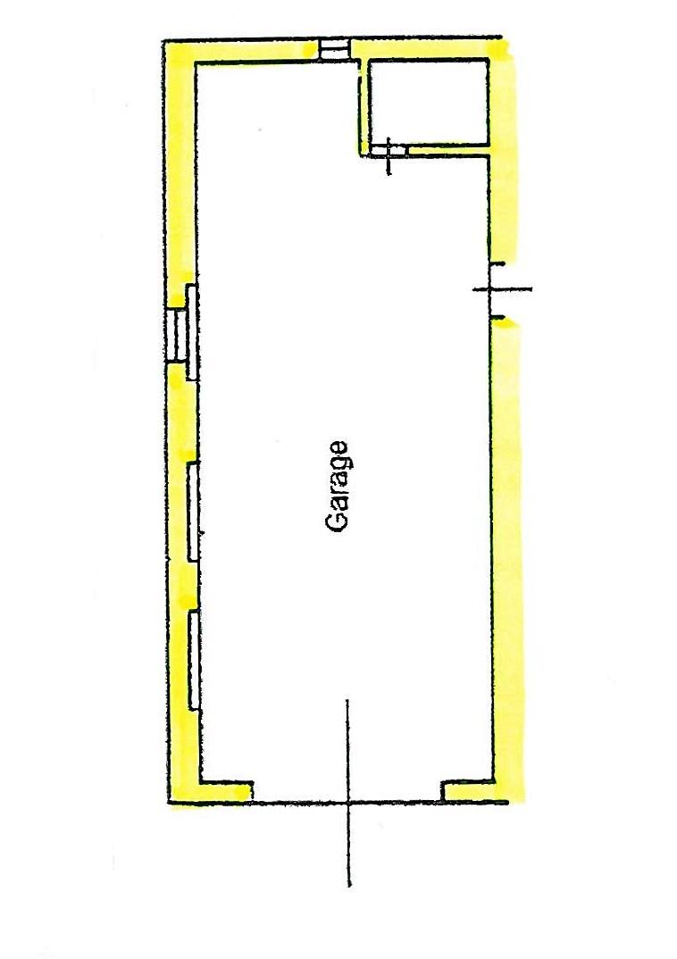 Planimetria 3/4 per rif. S775
