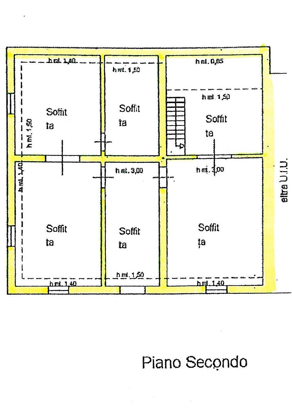 Planimetria 2/4 per rif. S775