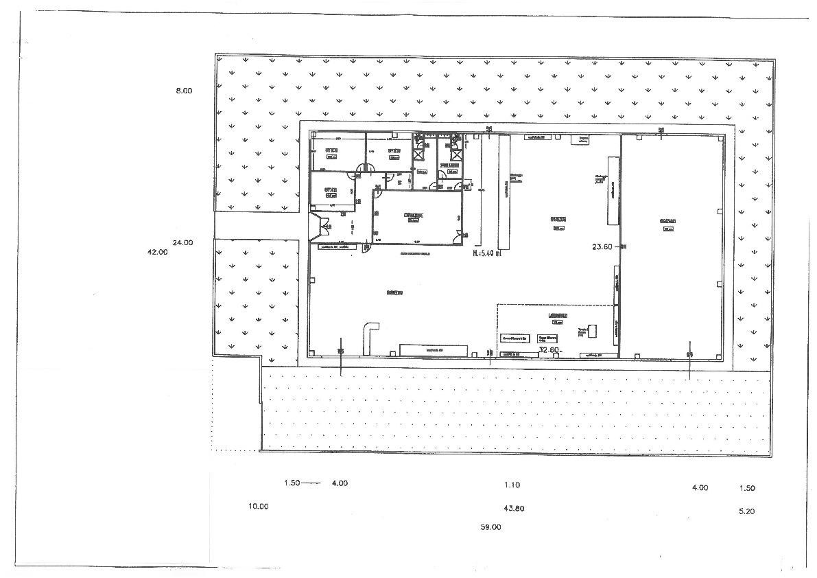 Planimetria 1/1 per rif. B1896