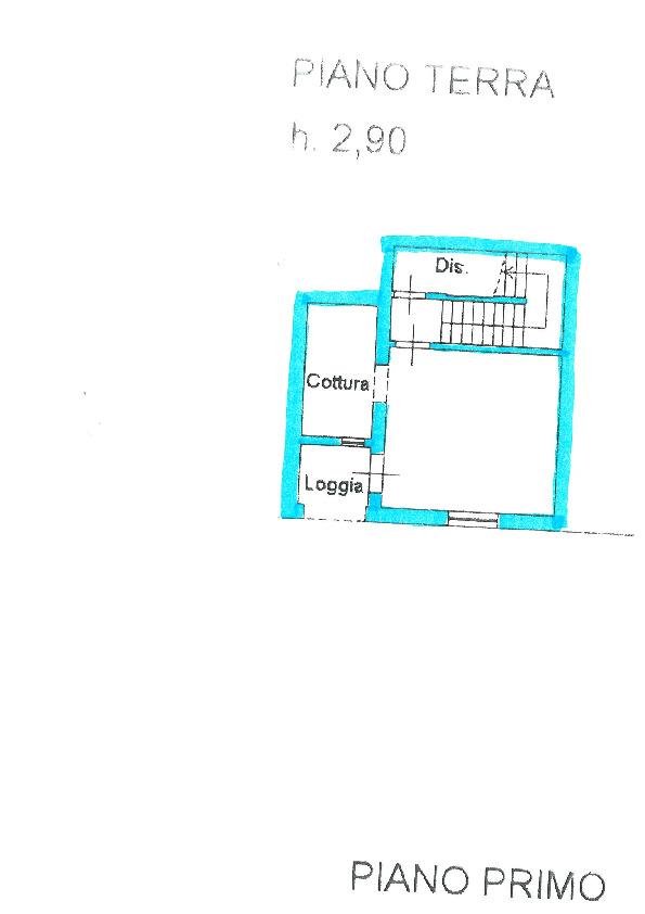 Planimetria 2/2 per rif. S941