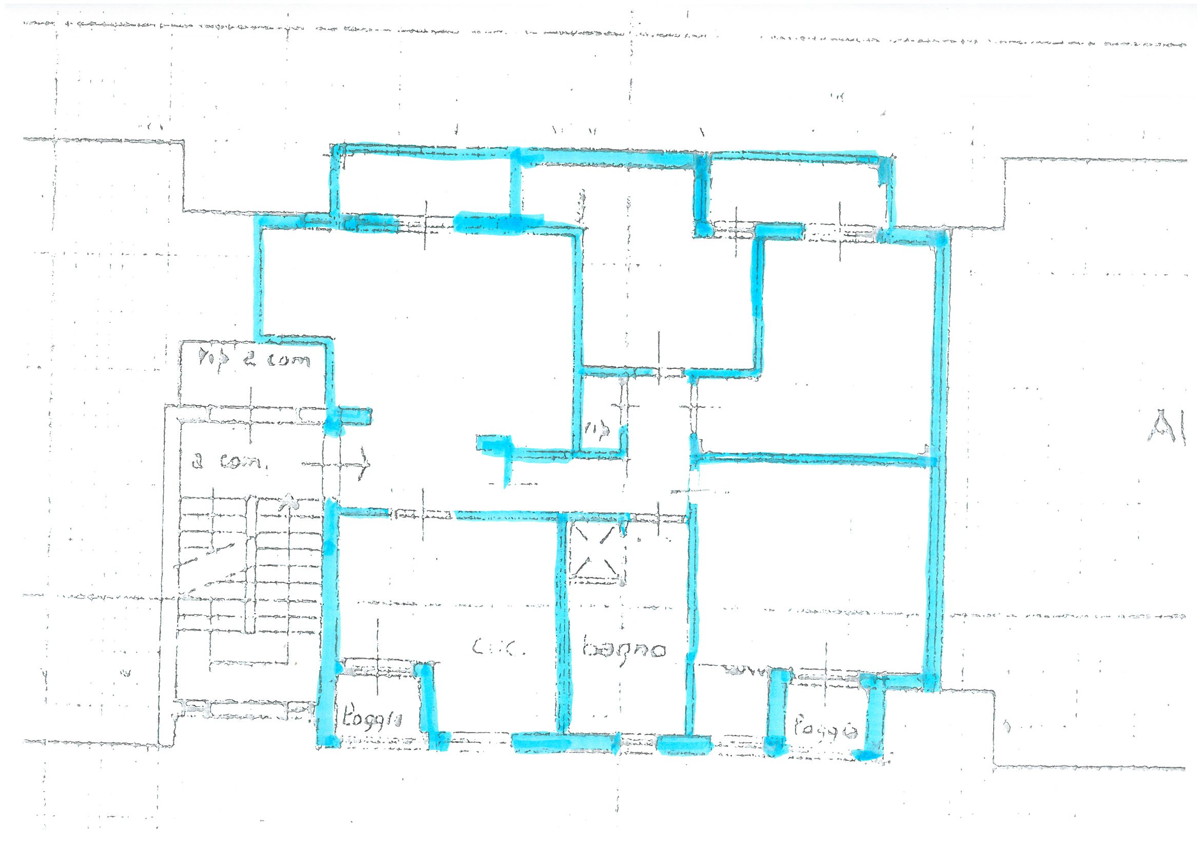 Planimetria 1/1 per rif. S1030